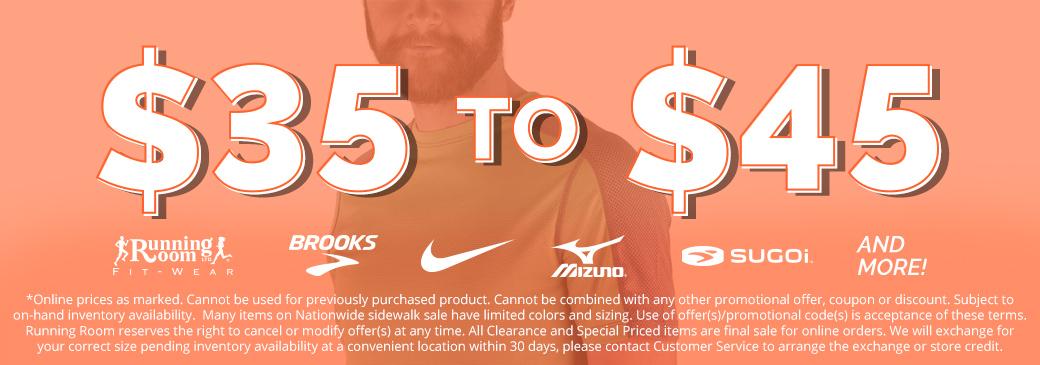 Sidewalk Sale $35-45