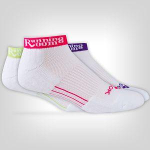 Fitsok CF2 Shadow Yarn Athletic Sock - Jewelpop Low 3 Pack