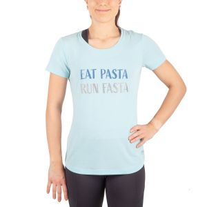 Running Room Women's Graphic Eat Pasta, Run Fasta