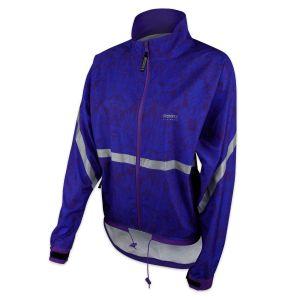 Running Room Unisex Printed Reflective Jacket
