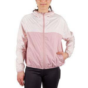 Running Room Women's Color Block Packable Run Jacket With Hood