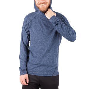 Running Room Men's Thermal Melange Hoody Pullover