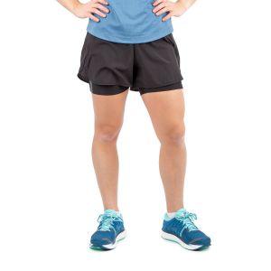 Running Room Women's Air Flow 2-in-1 Run Short