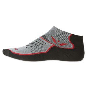 Swiftwick Vibe One Socks - Black/Red/Gray